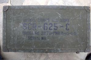 Signal corps de l'armée Américaine de la 2em guerre. ( récupération de mes amis de Mariniane .)