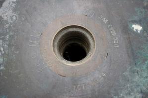 Douille de 152mm de 1936 ayant appartenu au Cuirassé RICHELIEU !!!