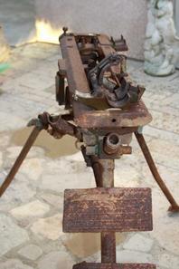 Trépied pour MG/34 de 1936 ( don de Mr VARIN Joèl )