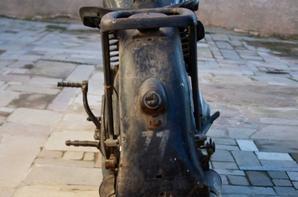DKW 250 de 1939 , peinture et marquage d'origine !