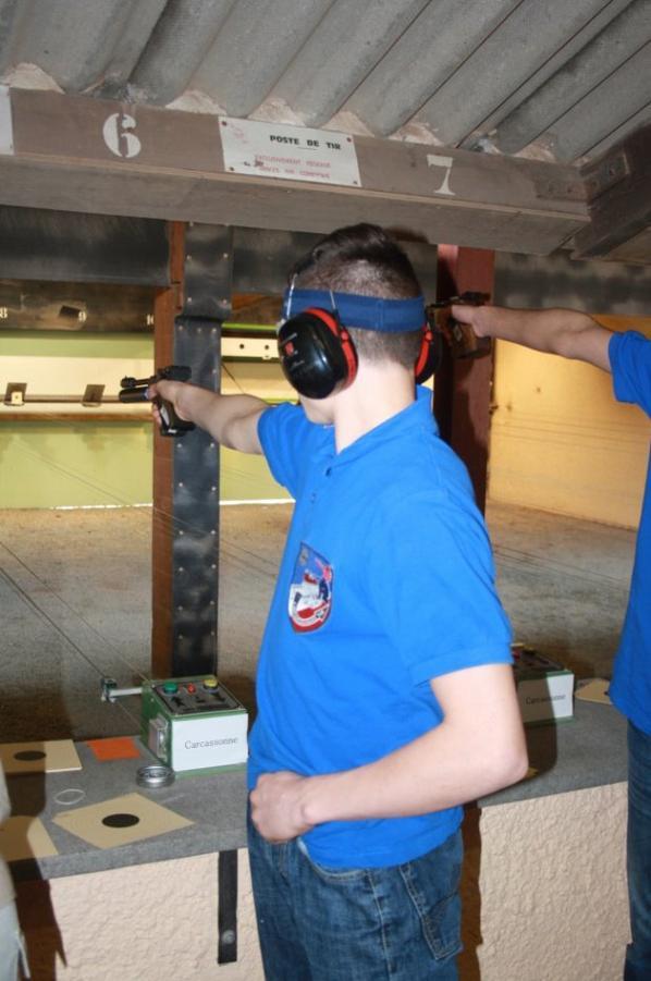 Mon fils Paul au concours de tir de Port la Nouvelle et une fois de plus 1er !!!