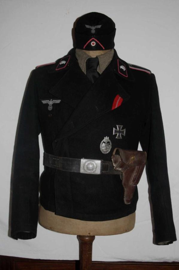 Veste courte d'un sergent des Panzer !!!