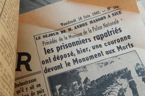 Visite d'un site exceptionnel dans le secteur de Narbonne de plusieurs blockhaus Allemand reliés par des tranchées , présence de barbélé et trouvaille journaux de 43 ainsi qu'une protection pour sangle Hippomobile !!