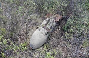Bombe d'exercice Allemande de 250 Kg WW2 .