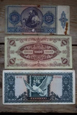 Billets Hongrois WW2