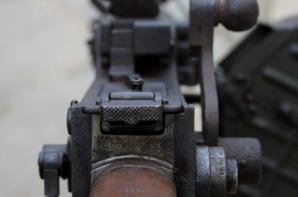 Mitrailleuse Allemande MG 08/15 datée 1918 avec sont magasin escargot .