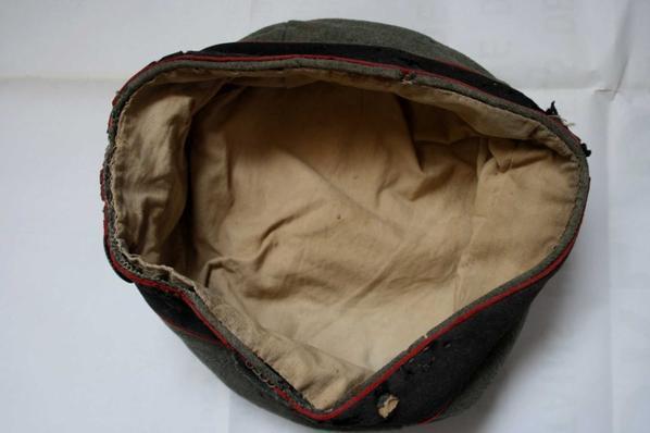 Mütze d'artillerie WW1.