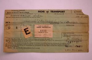 Document WW2 ( sortie de grenier )