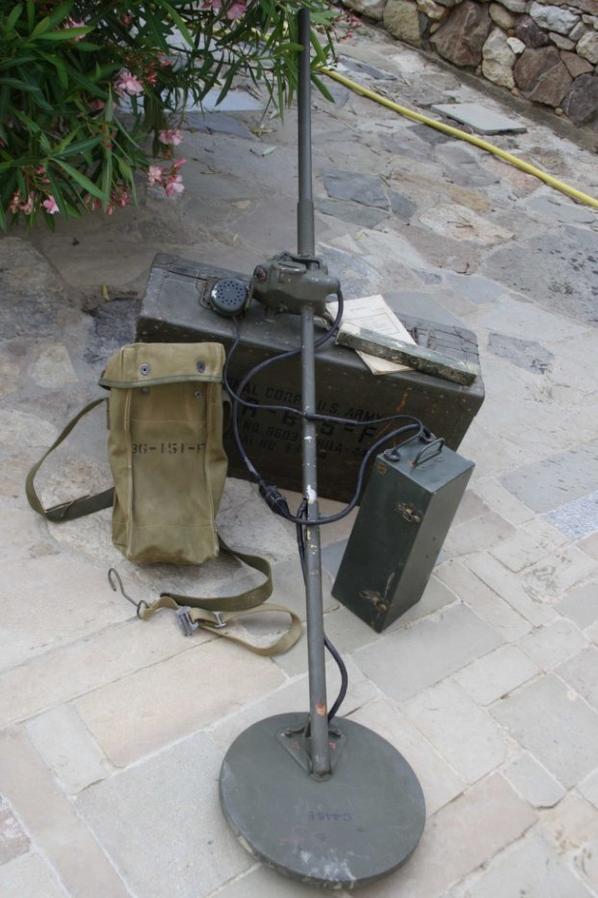 Détecteur de métaux US.