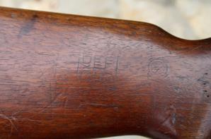 Carabine USM1 premier modèle avec nom du Soldat !!