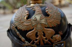 Casque mle 1895 de réserviste Prussien .