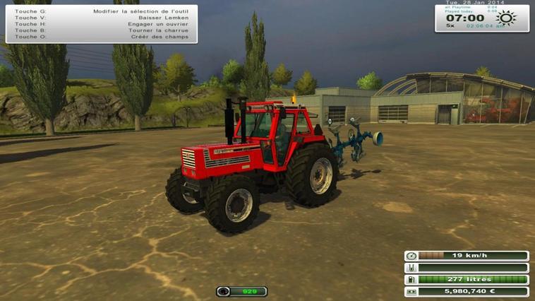 Farming Simulator 2013,  Fiatragri 115-90