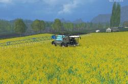 FS15:  Sprayer BERTHOUD RAPTOR FC cabine avancé ascensionnelle,