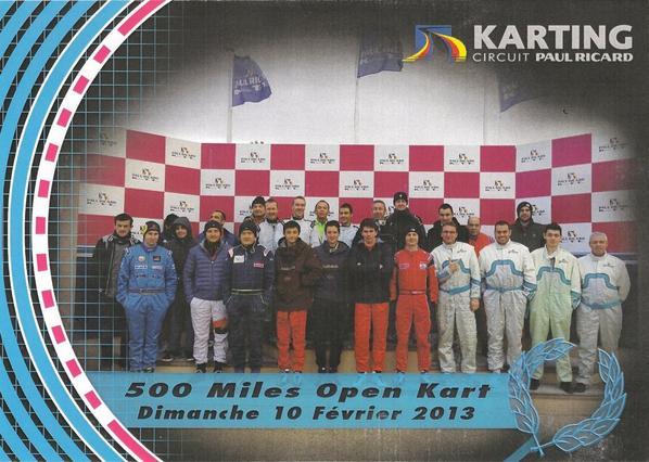 5ème Manche des 500 Miles sur le circuit du Castellet.Course