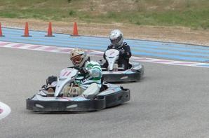 Les 300KM de Kart sur le Circuit du Castellet. Photo Armenio