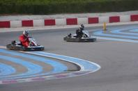 Les 300KM de Kart sur le Circuit du Castellet. Photo Moi