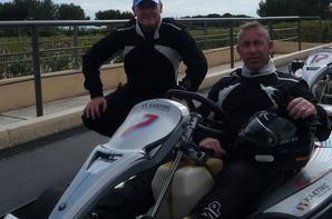 Les 300KM de Kart sur le Circuit du Castellet. Photo Equipe