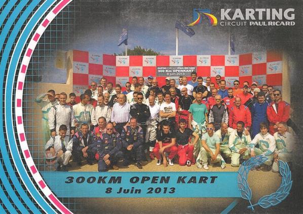Les 300KM de Kart sur le Circuit du Castellet.