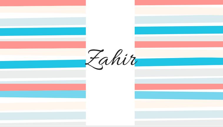 Zair, Zaïr, Zahir