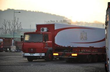 Arlette Gruss > L'installation à rouen