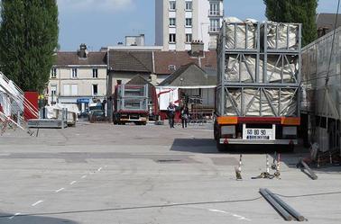 Arlette Gruss > Notre installation à Troyes
