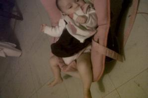 mylena ma fille de 4 mois
