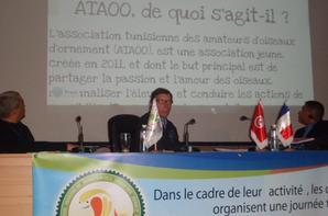 Première journée technique en TUNISIE animé par Mr LEMOINE Franci