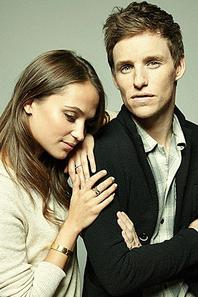 Un des plus beau couple fictif vu dans un film: Alicia Vikander et Eddie RedMayne. ♥