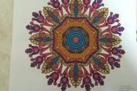Mandalas : Calendrier 2015 coloriages Lolo