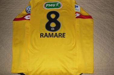 02/03/16  1/4 FINALE CDF  FCSM - NANTES N°8 J.RAMARE (Merci Daniel)