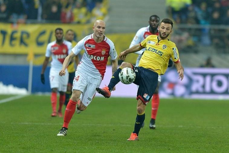 10/01/2017 COUPE DE LA LIGUE 1/4 de finale  FCSM-MONACO N°23 F.HONORAT