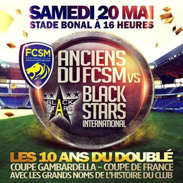 20/05/2017 MATCH DES ANCIENS FCSM/BLACK STARS N°8 F.BOUDARENE (Merci BiBi)