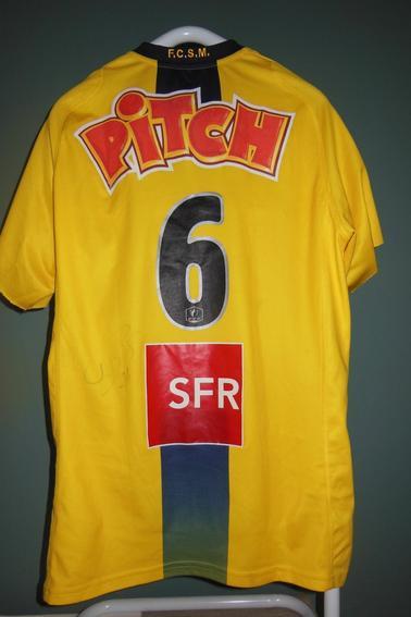 03/01/2009 COUPE DE FRANCE FCSM-RENNES N°6 D.PERQUIS