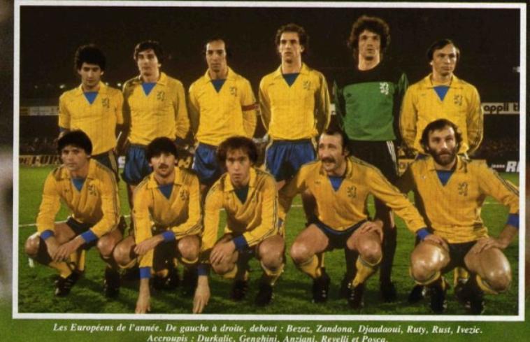SAISON 1980/81 COUPE UEFA N° 10 B.GENGHINI