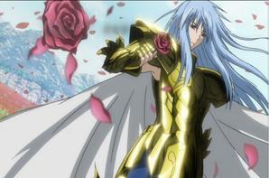 Minos x Albafica Un jour d'une rose