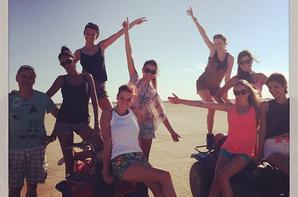 Bientôt la fin des vacances pour les Miss en Tunisie !