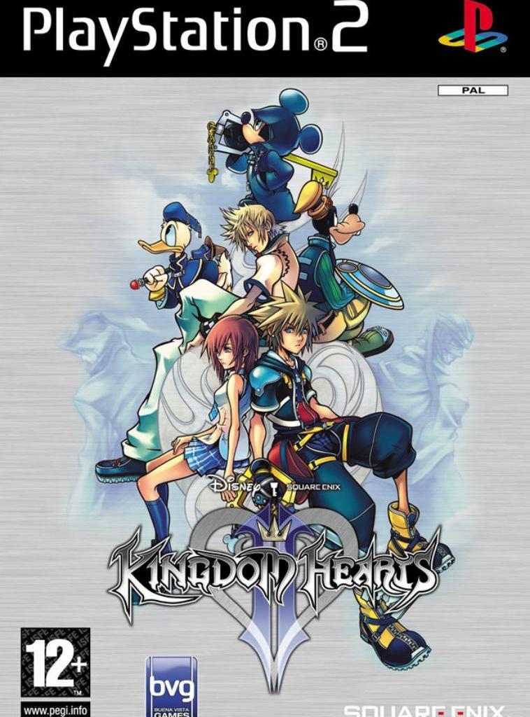 ....2. Kingdom hearts....