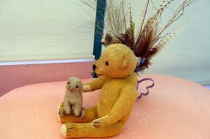 Hier journée de restauration,mon ors est arrivé de l'Allemagne en pauvre état,
