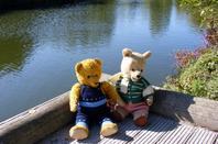 Ma promenade d'automne au parc avec Kiki et Apolon+++