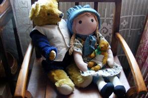 Samson en compagnie de ma poupée Holly Hobbie++++