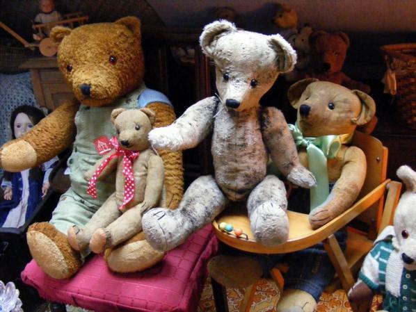 très belle soirée avec ma petite famille d'ours à vous tous++++
