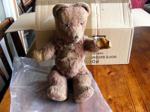 Il étais une fois un petite ourse brun qui est arrivé chez moi tout malheureux,