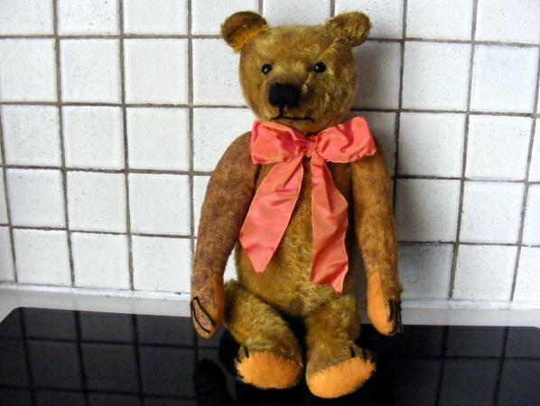 C'est la fête à mon ours Odilon++++Déjà 4 ans que je lé reçu des Etats-unis++