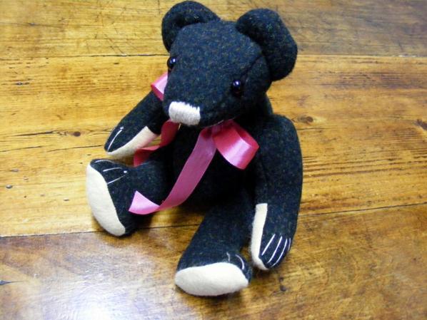 un petit ours que viens de crée n'est il pas mignon?