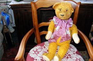 Voici mon dernier ours qui est arrivé il y a 2 jours c'est mon Otto ours Allemand+++++