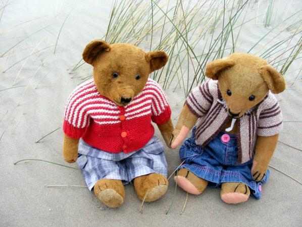 Un petit coucou de Désiré et Jacobe qui vienne de la mer pour les photos++++