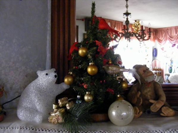 Suite de ma déco de Noël bon dimanche à vous tous+++++