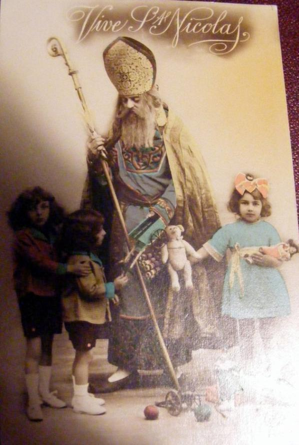 bonne Fêtes de ST Nicolas à tous les grand et petits enfants