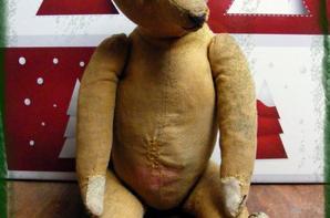 Voici mon dernier ours qui viens d'arrivée il y a quelques jour.
