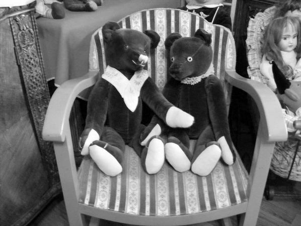 Un petit coucou de mes deux ours à vous tous++++